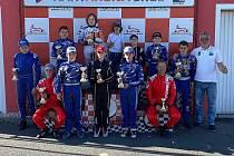 Jezdci z HKC Racing Teamu Most.