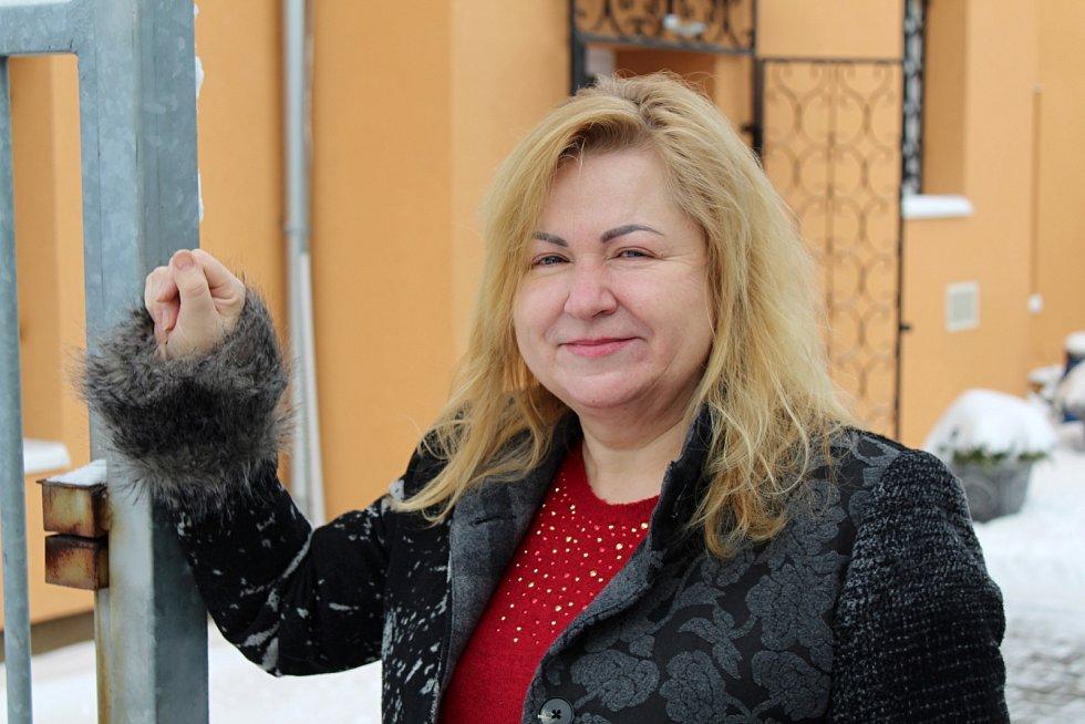 Starostka Bělušic Eva Jelínková