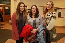 Schola Humanitas hostí trojici amerických studentek. Ty přijely na výměnný pobyt.