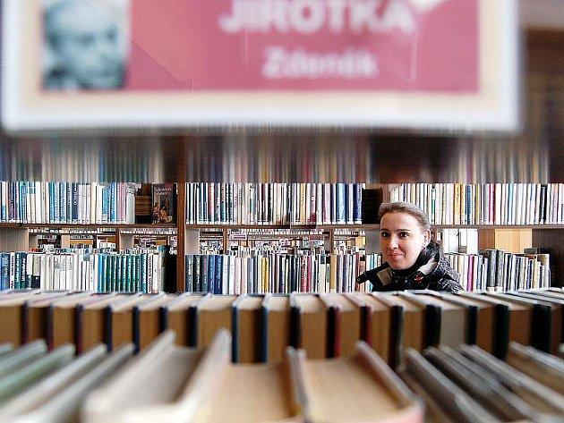 Knihovna v Mostě.