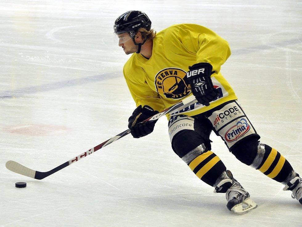 Litvínovským hokejistům začala příprava na ledě.