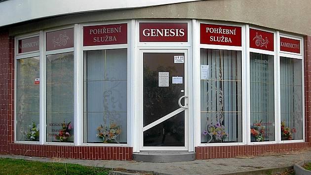 Pohřební služba Genesis.