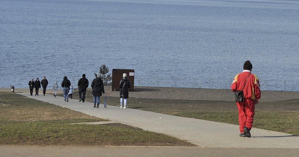 Jezero Most, sobota 6. března