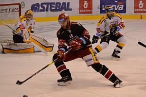 Litvínov hrál ve 34. kole doma proti Hradci Králové.