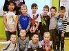 Žáci 1. A Základní školy Braňany s třídní učitelkou Jitkou Švejdovou