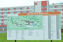 Nemocnice v Mostě.