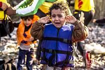 Uprchlíci připlouvali 3. října na řecký ostrov Lesbos.
