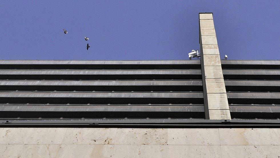Výšková budova, bývalý SHD-KOMES