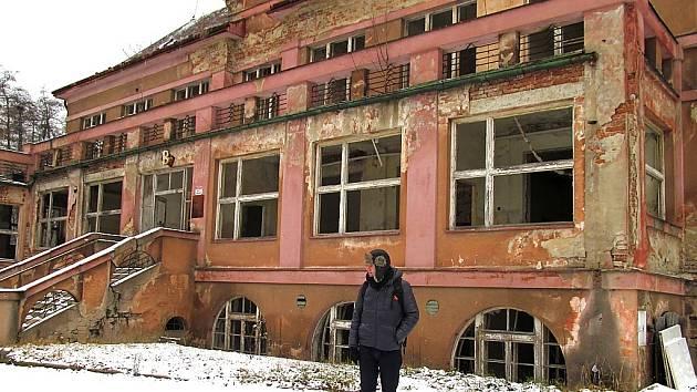 Bývalá litvínovská poliklinika.