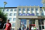 100. výročí mosteckého gymnázia.