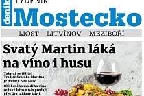 Týdeník Mostecko ze 7. listopadu 2018