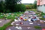 Radnice vsídlišti Chanov deset dní záměrně neuklízela. Tohle je výsledek