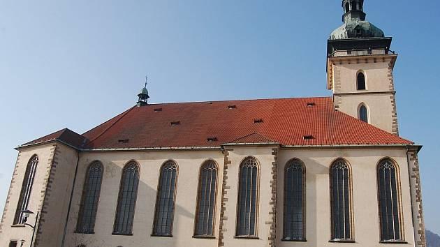 Děkanský kostel v Mostě.