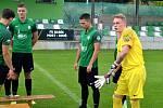 Týmové focení FK Baník Most-Souš.