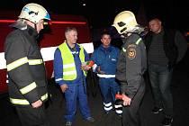Únik plynu v Litvínově vystrašil tamní obyvatele