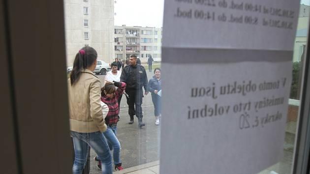 Volby v Chánově.
