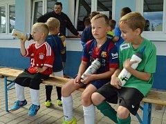 Příměstský fotbalový tábor v Čepirozích.