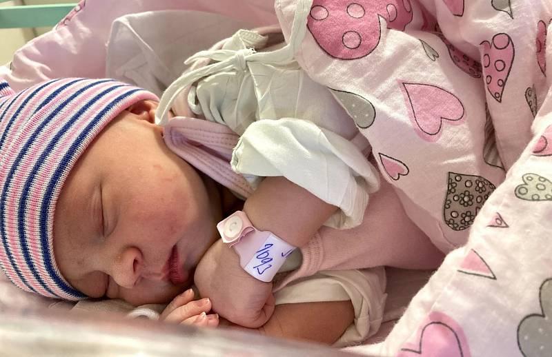 Kristina Janáčková se narodila se 7. září v 18.50 hodin rodičům Štěpánce Kolínské a Lukáši Janáčkovi. Měřila 50 cm a vážila 3,42 kg.