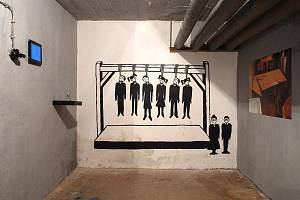 Mostecká Galerie Bunkr a nová výstava Gymmost/Zeď.