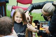Dobročinná akce Mostecké vlasy