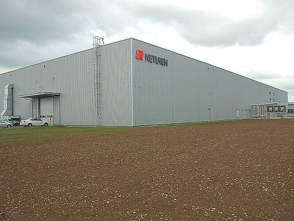 Továrna Neturen vprůmyslové zóně Triangle.