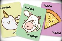 Hra Taco, kočka, koza, sýr, pizza.