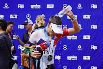 Jakub Langhammer při Ironman 70,3 Taupo.