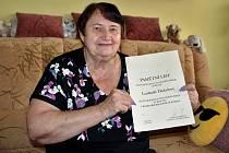 Zakladatelka a bývalá ředitelka okresní agrární komory, držitelka Ceny hejtmana za regionální rozvoj, Ludmila Holadová