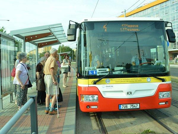 Náhradní autobusová doprava Most-Litvínov