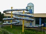 Mostecký aquadrom připravuje výměnu dvou původních tobogánů za nové