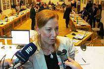 První výběrové řízení na tajemníka starostka Kamila Bláhová (na snímku) zrušila.