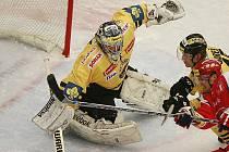 Martin Volke ještě v dresu Litvínova.