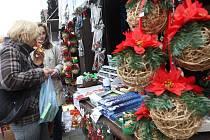 Mostecké vánoční trhy.