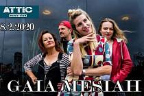 Koncert skupiny Gaia Mesiah bude v litvínovském Atticu.