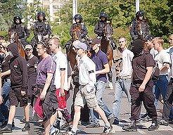 Pietní pochod.