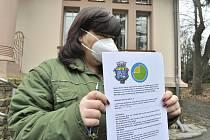 Městský úřad v Horním Jiřetíně zajistil obyvatelům starším 60 let respirátory.