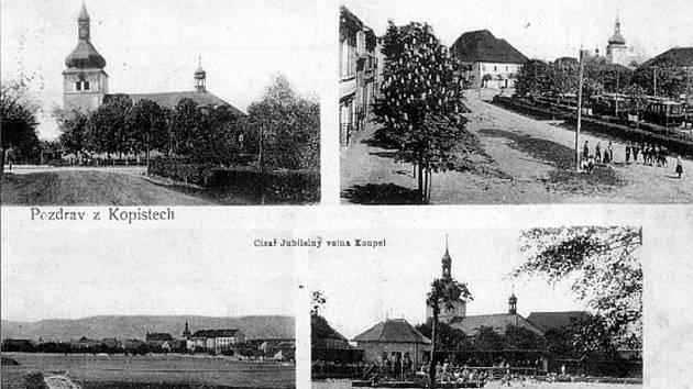Podruhé se v našem unikátním seriálu podíváme do dnes již zaniklé obce Kopisty.