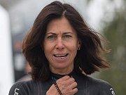 Teplická triatlonistka závodící pod hlavičkou litvínovského Krušnomana Alena Vrátná.