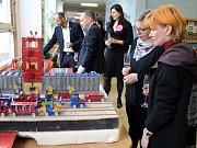 Soutěžní výstava modelů ze stavebnice Merkur od žáků základních škol