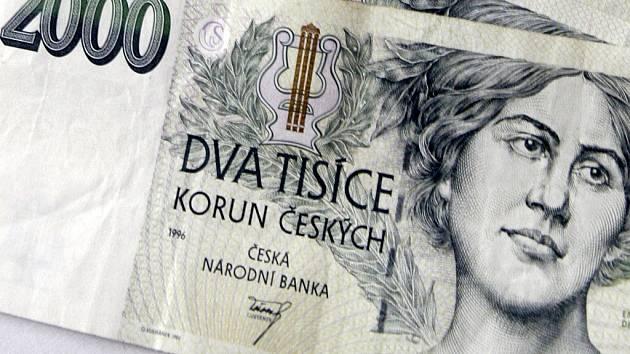 Peníze.