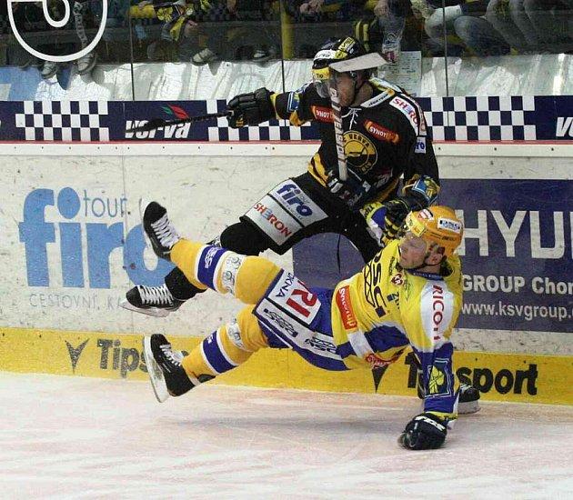 Hokejisté Litvínova nakonec podlehli po samostatných nájezdech Zlínu