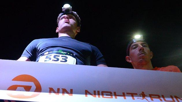 Noční běh Mostem