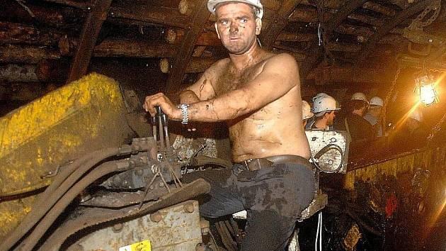 V dole Centrum dnes zahynul horník. Ilustrační fotografie.