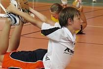 Badmintonisté dřou při mezinárodním soustředění v Mostě.