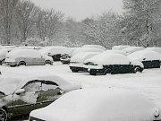 Zima přišla na Mostecko.
