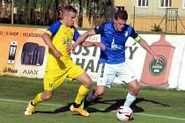 Fotbalisté Neratovic mají v souboji s Mostem o první příčku ve skupině nadále navrch.
