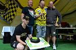 Zakladatel srazu Placka dostal v Litvínově dort.