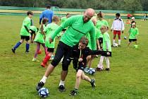 Hřiště v krušnohorském Brandově opět ožilo mezinárodním fotbalovým kempem.