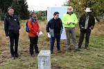 Češi a Němci se opět sešli na hranici, aby odhalili pamětní desku