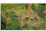3D bludiště pro park Šibeník v Mostě.
